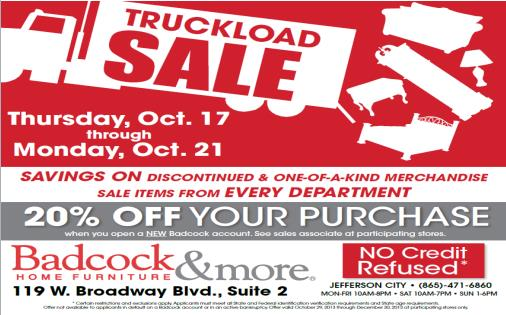 Member event badcock home furniture more truckload sale jefferson county chamber of Badcock home furniture more winchester tn