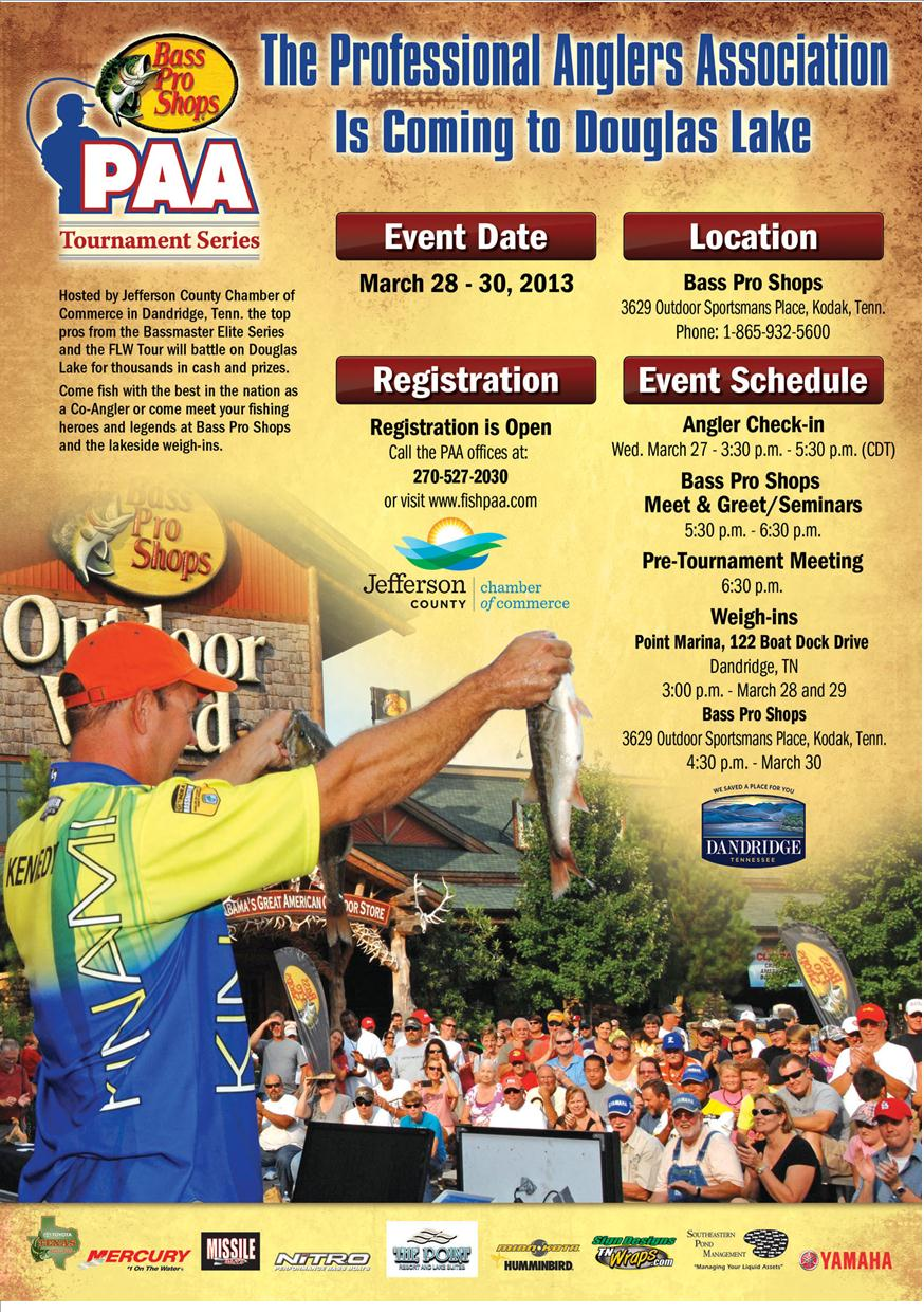 CHAMBER EVENT: PAA Tournament Series coming to Douglas Lake